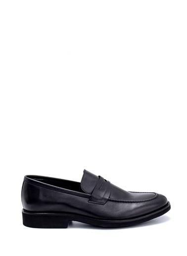 Derimod Erkek Loafer(0221A001 Klasik Siyah